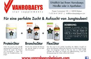 VANROBAEYS - für eine perfekte Zucht & Aufzucht von Jungtauben !